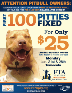 low cost low income spay neuter temecula